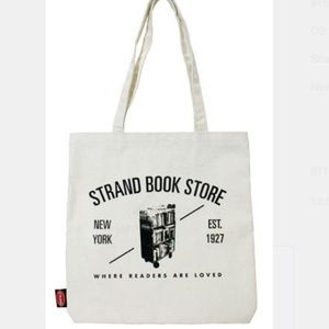 Strand Book Store NYC Canvas Tote Bag